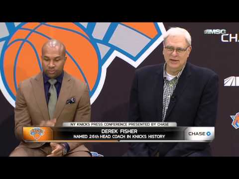 Derek Fisher Q&A: