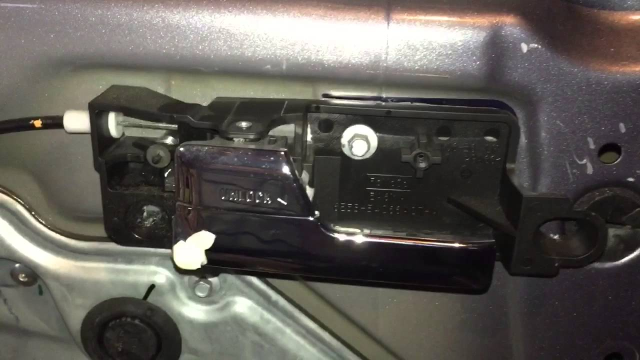 How To 2006 Ford Fusion Inside Door Handle Replacement Youtube