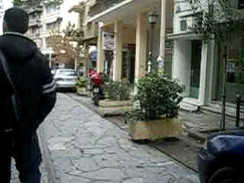 28.1.2010 walking down Iraklidon in Thissio