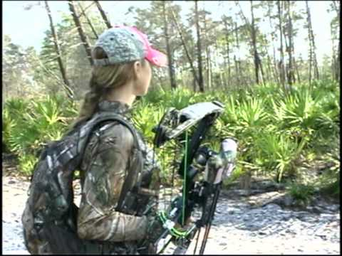 Hunting with Laura Francese,Capt. Mark Gore,Brandon Storey,Jeff Hughes