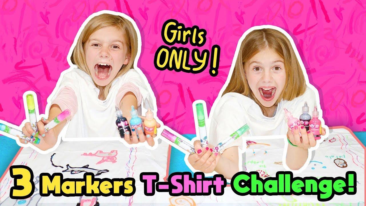 Download No BOYS Allowed 3 Marker Challenge!