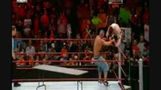 John Cena Vs Sheamus (tables Match) Part 2/2