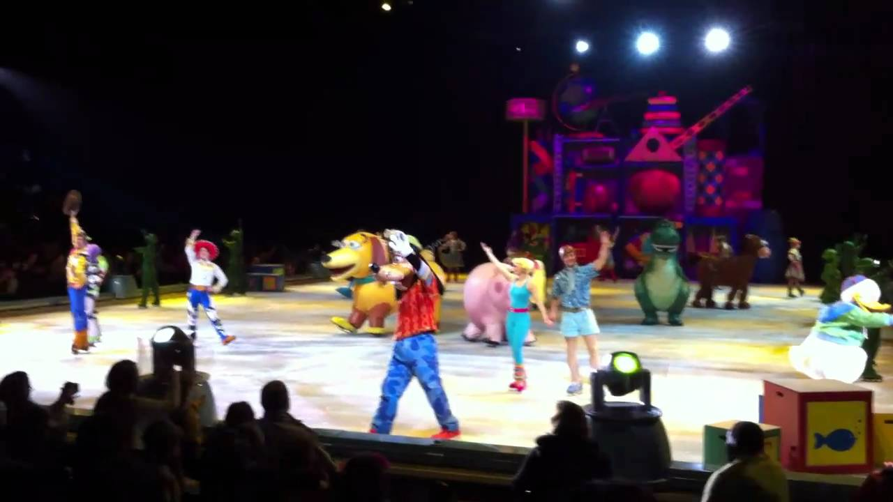 2011 Disney On Ice Rogers Center Toronto On Youtube