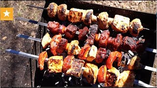 Вегетарианский Шашлык и Праздничные Рецепты из Сейтана от Мармеладной Лисицы