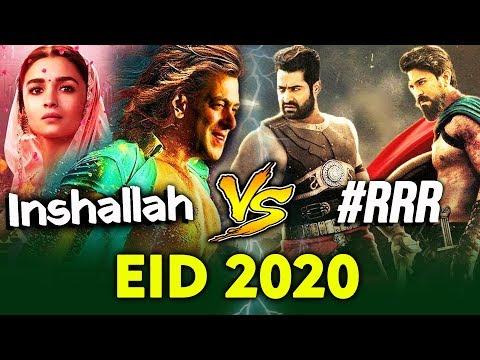 Eid 2020 महायुद्ध | INSHALLAH VS RRR | Salman Khan Vs SS Rajamouli