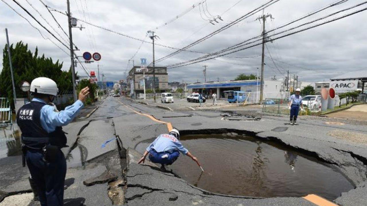 Gempa 6 Sr Guncang Osaka Jepang Diprediksi Akan Terjadi Lagi Gempa Berkekuatan 7 5 Sr Youtube