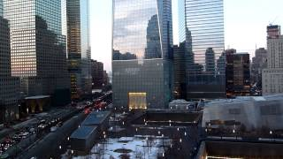 New York - One World Trade Center (Freedom Tower) and 911 Memorial Garden