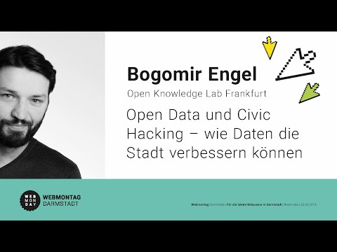 Webmontag in Darmstadt am 23.05.2016 - Bogomir Engel: Open Knowledge Lab Frankfurt