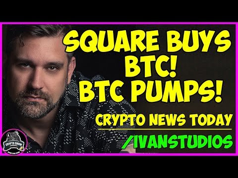 Bitcoin Pumping! Square Buys 4,700 BTC - Crypto News ???????? Tesla Could Be TOKENIZED?