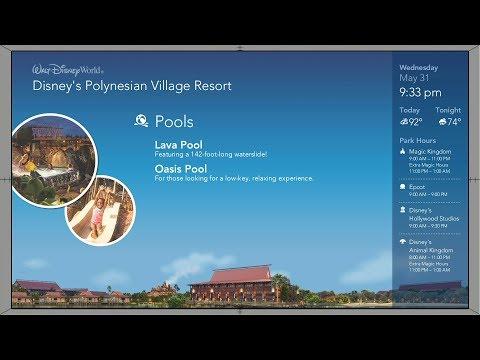 Polynesian Resort | Your Disney Resort Channel (New)| WDW Resort TV 2017