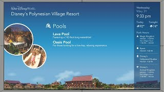 Polynesian Resort | Your Disney Resort Channel (New)| WDW Resort TV 2017
