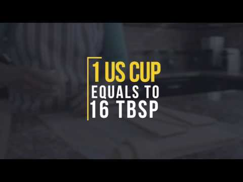 How Many Tablespoon In Cup