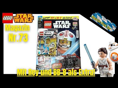 LEGO Star Wars Magazin Nr.73 mit Rey und BB-8 als Extra! | Review+Unboxing deutsch