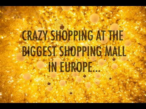 SHOPPING AT THE BIGGEST SHOPPING MALL IN EUROPE / PORTS DI ROMA/ ISASBEAUTYSPACE