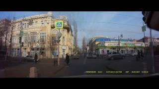 ДТП с мерседесом и УАЗом полиции 3 2 2017  Ростов на Дону Главный