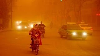 Strongest sandstorm in decades sweeps China