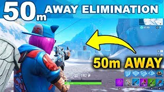 Eliminate Opponent from at least 50m away FORTNITE CHALLENGE - FORTNITE WEEK 2 CHALLENGES SEASON 7
