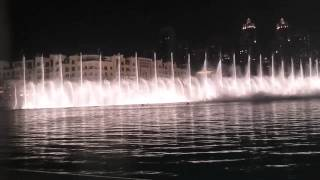 Magnificent Seven Theme DUBAI FOUNTAIN