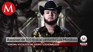 Matan a Luis Mendoza, cantante de narcocorridos