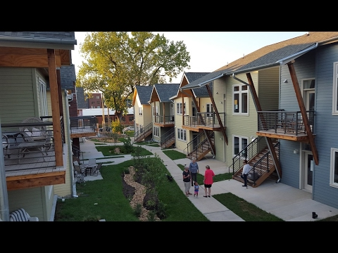 Cohousing communities help prevent social isolation
