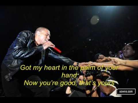 Chris Brown - I'll Go Lyrics (Graffiti)