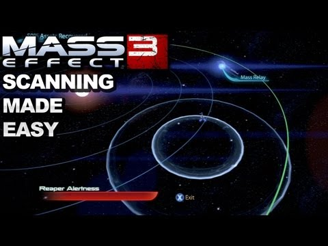 Mass Effect 3 - The Easiest Way to Scan