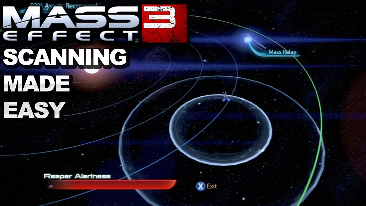 Mass Effect 3 The Easiest Way To Scan Youtube