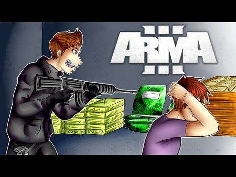Arma 3 Life: ARMED CONVOY AMBUSH & Arresting Criminals (Arma 3)