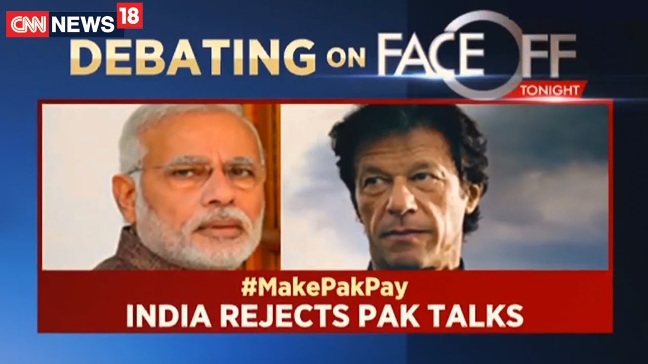 India Rejects Pakistan Talks | Face Off | CNN News18