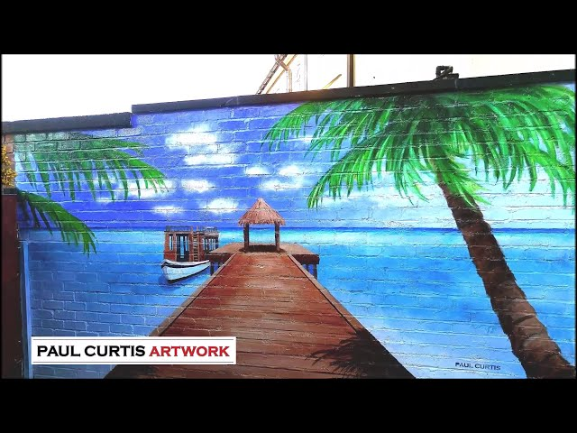 Calypso Beach Mural