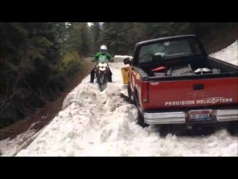 Tiger 800xc Athol, Idaho to Clark Fork, Idaho on the