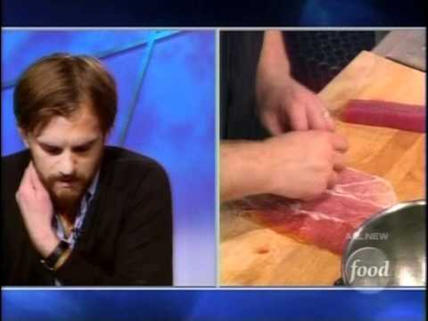 Caleb Followill on Iron Chef America  Kings of Leon