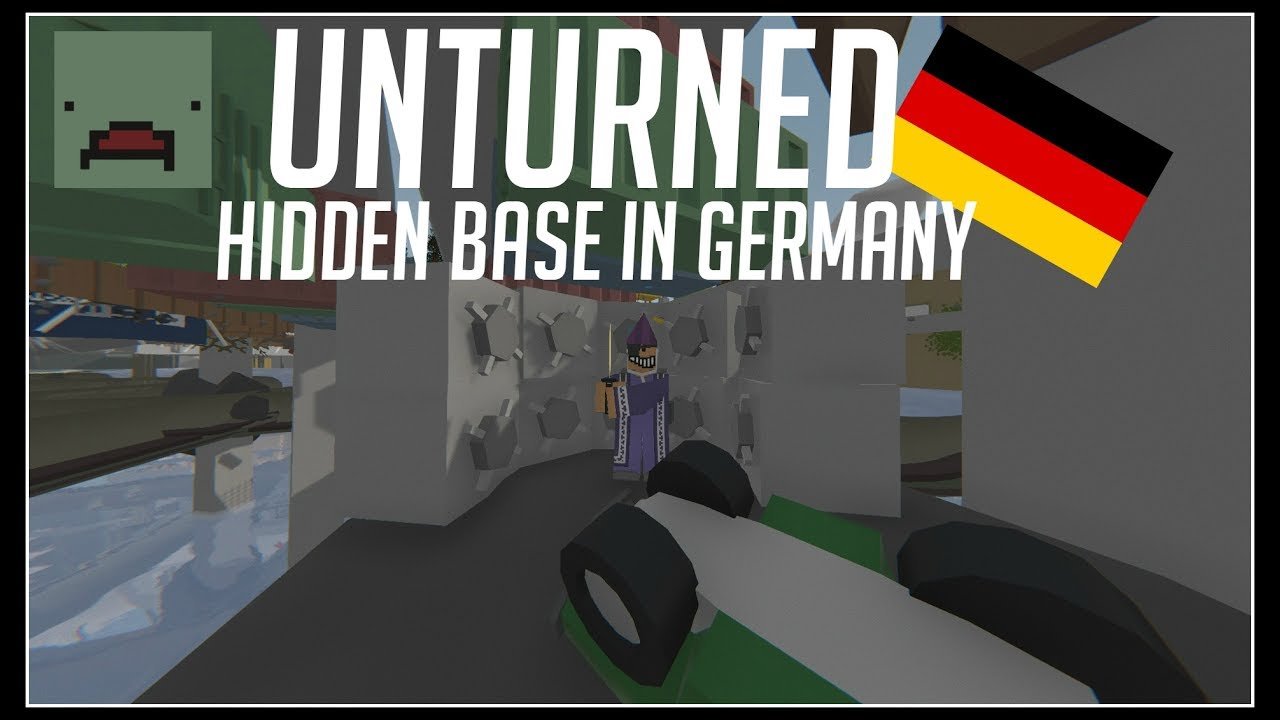Unturned HIDDEN BERLIN SEWER GLITCHED BASE IN GERMANY YouTube - Berlin map unturned