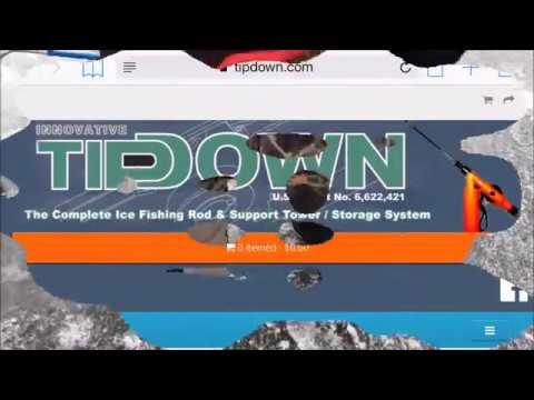 Innovative Tip-Down - Ice Fishing Product Review - LyubakaVideo