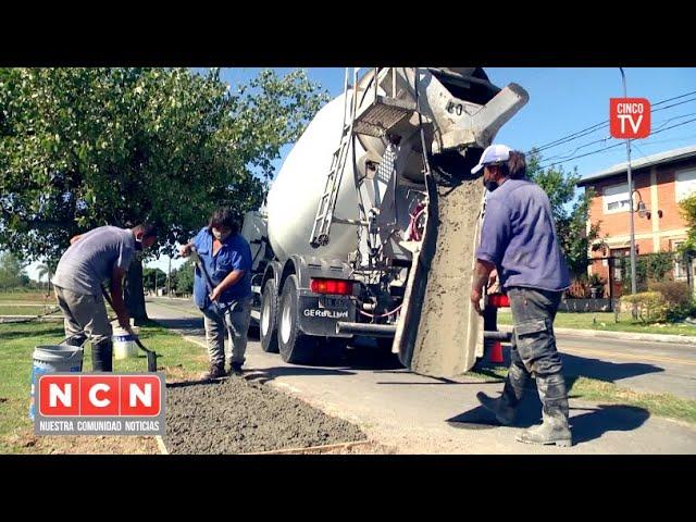 CINCO TV - Julio Zamora recorrió obras de infraestructura en distintos puntos de Tigre