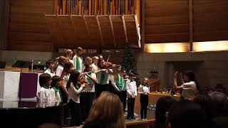 161217 Hanerot Hallalu -- Young Musicians Chorus