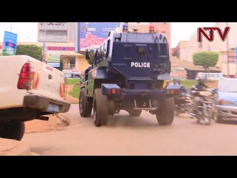How police locked down Kampala during the Age limit debate