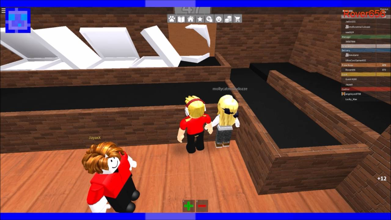 Roblox Episode 1 Work At A Pizza Place Youtube