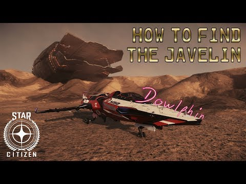 Star Citizen - How to: Find the Javelin wreck