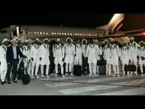 Super Eagles Arrive Russia In Grand Style