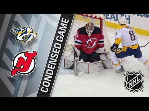 Nashville Predators vs New Jersey Devils – Jan. 25, 2018 | Game Highlights | NHL 2017/18.Обзор матча