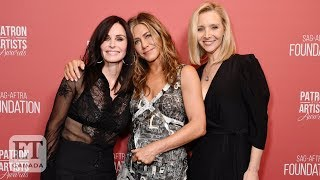 Download Courteney Cox, Lisa Kudrow Pay Tribute To Jennifer Aniston At Patron Of The Artists Awards Mp3 and Videos