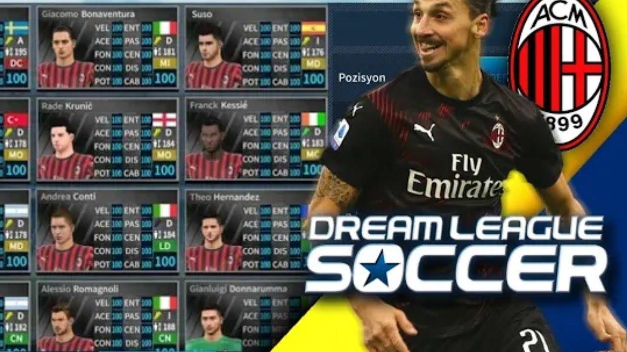 تحميل داتا فريق اي سي ميلان بآخر الانتقالات زلاتان إبراهيموفيتش