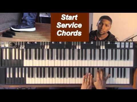 Start Service Chords Organ (Beginner Lesson)