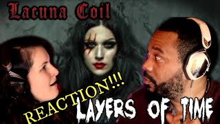 Lacuna Coil-Layers of Time Reaction!!