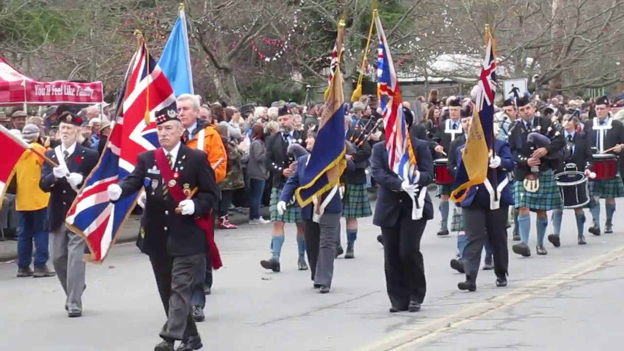 Salt Spring Island Remembrance Day