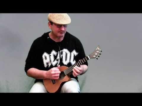 Thunderstruck(AC/DC)Solo Ukulele