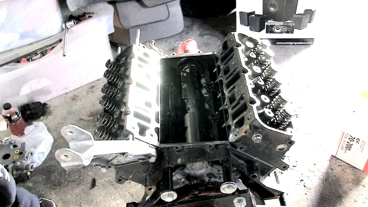 L67 Engine Disassembly