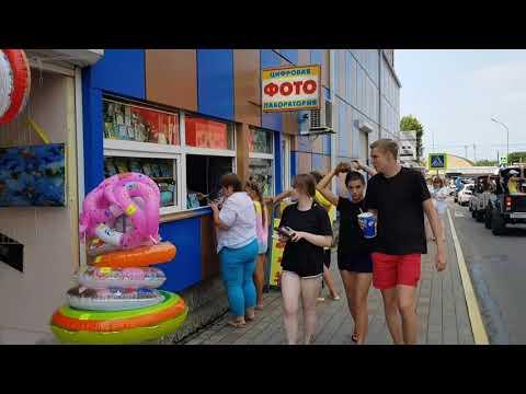 """Океанариум, Дельфинарий, ТЦ """"Бирюза"""", пляж """"Морская звезда"""" в Лазаревском. Июль 2019"""