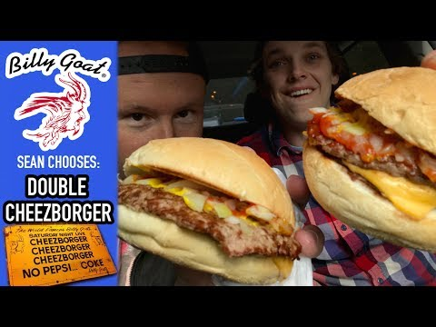 SEAN CHOOSES: Billy Goat Tavern's Double Cheezborgers | Bonus Video